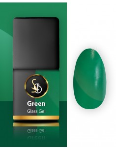 Glass Gel Green, Verde