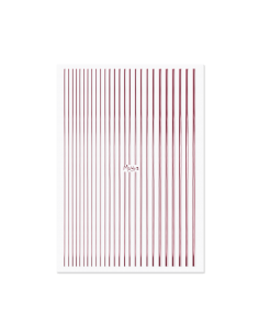 Moyra Nail Art Strips Rose...