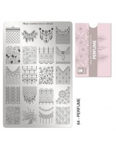 Moyra Stamping Plate 64-...