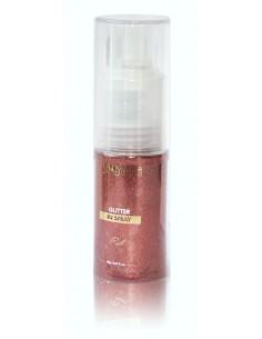 Glitter in spray - red