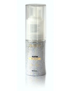 Glitter in spray - silver magic